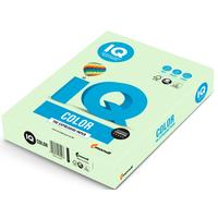 Бумага цветная для печати IQ Color зеленая пастель GN27 (А4, 160 г/кв.м, 250 листов)