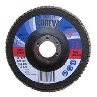 Круг лепестковый по стали 125 мм z120 Pureva 447323