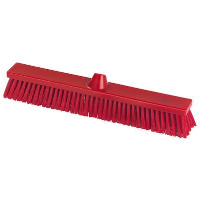 Щетка для пола Hillbrush B1786R 50 см жесткая щетина (красная)