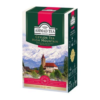 Чай Ahmad Tea Ceylon High Mountain черный 100 г