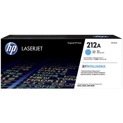 Картридж лазерный HP 212A C W2121A голубой оригинальный