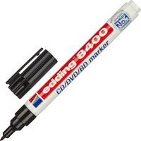 Маркер для CD Edding E-8400/1 черный (толщина линии письма 0.5-1 мм)
