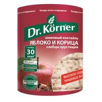 Хлебцы Dr.Korner Злаковый коктейль яблоко с корицей пшеничные 90 г