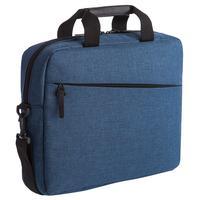 Конференц-сумка из полиэстера синяя (38x28x8 см)