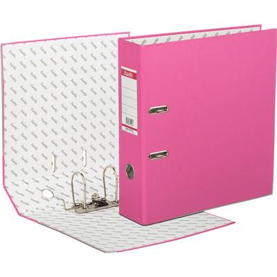 Папка-регистратор Bantex Economy Plus 80 мм розовая