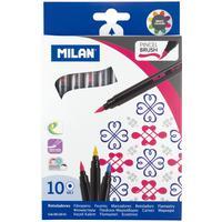 Фломастеры Milan 10 цветов