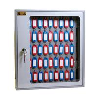 Шкаф для ключей Klesto SKB-102 серый (на 102 ключа, металл)