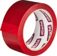Клейкая лента упаковочная Attache 48 мм x 66 м 45 мкм красная