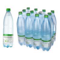 Вода минеральная Акваника негазированная 1 л (12 штук в упаковке)