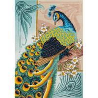 Набор для вышивания Panna панно Птица счастья 28,5x40см