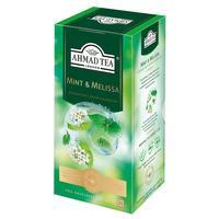 Чай Ahmad Tea зеленый Мята-Мелиса 25 пакетиков