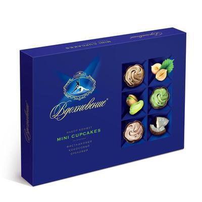 Шоколадные конфеты Вдохновение Mini cupcakes 165 г