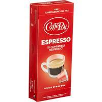 Кофе в капсулах для кофемашин Caffe Poli Espresso (10 штук в упаковке)