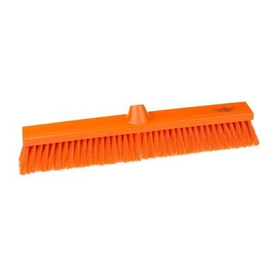 Щетка для пола Hillbrush B1657T 50 см щетина средней жесткости (оранжевая)