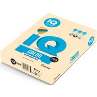 Бумага цветная для печати IQ Color бежевая пастель CR20 (А4, 80 г/кв.м, 500 листов)