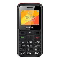 Мобильный телефон Texet TM-323B черный/красный