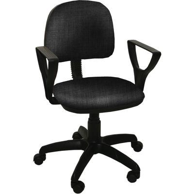 Кресло офисное Форум 2 черное (ткань, пластик)