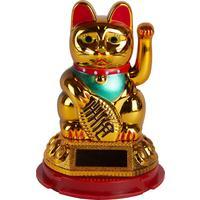 Сувенир маятник  Манэки-нэко золотой