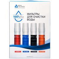 Фильтр для пурифайера AEL Aquaаlliance (4 штуки в упаковке) в цветной коробке