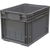 Ящик (лоток) KLT универсальный полипропиленовый 396х297х280 мм серый