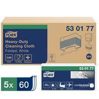 Нетканый протирочный материал Tork 530177 W4 белый (60 листов в упаковке)