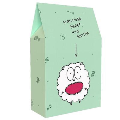 Подарочная коробка Антибуки Матильда знает, что внутри (11x18x5 см)