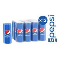 Напиток Pepsi газированный 0.33 л (12 штук в упаковке)