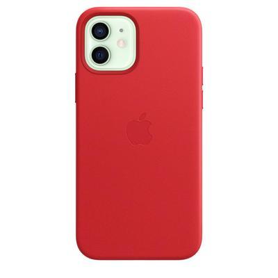 Чехол -крышка Apple Leather Case MagSafe для iPhone 12 / 12 Pro, MHKD3ZE/A