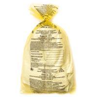Пакет для медицинских отходов СЗПИ класс Б 5 л желтый 30x33 см 10 мкм (100 штук в упаковке)