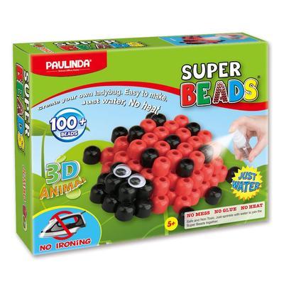 Мозаика детская Paulinda Божья коровка 3D самоклеящаяся 100 элементов