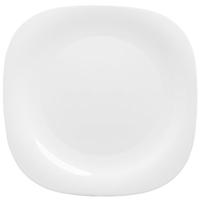 Тарелка обеденная Luminarc Нью Карин стеклянная белая 260 мм (артикул производителя H5604)