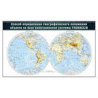 Доска магнитно-маркерная Определение географического положения объекта ГЛОНАСС