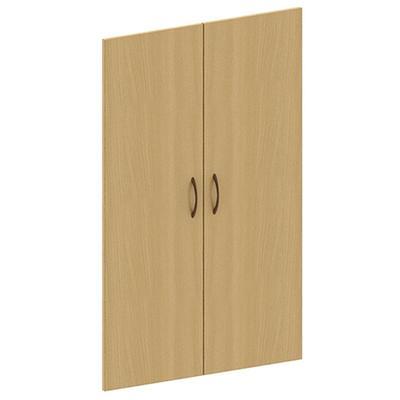 Двери средние Канц ЛДСП (бук, 692х16x1098 мм, 2 штуки)