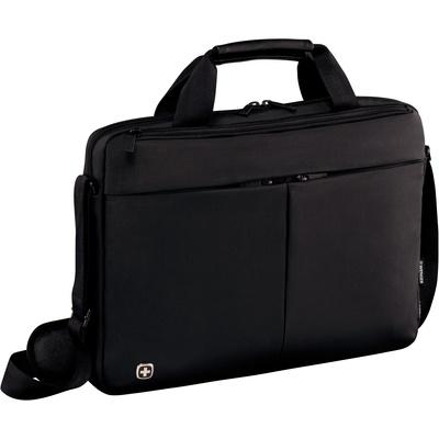 Портфель Wenger из нейлона черного цвета (601079)