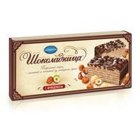 Торт вафельный Коломенское Шоколадница с фундуком 270 г