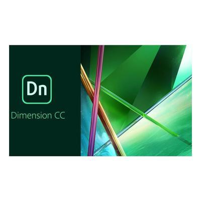 Программное обеспечение Adobe Dimension CC for teams All Apps Multiple Platforms Multi European Languages Level 1 (1 - 9) Commercial Renewal