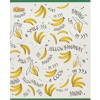 Тетрадь общая №1 School Banana А5 60 листов в клетку на скрепке