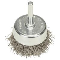 Щетка чашечная волнистая INOX 50 мм для дрели Bosch (2608622117)