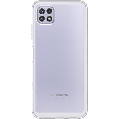 Чехол накладка Samsung Soft Clear Cover для Samsung Galaxy A22  прозрачный (EF-QA225TTEGRU)