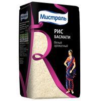 Рис длиннозерный Мистраль Басмати экстра 500 г