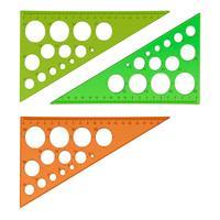 Треугольник Neon Cristal (19 см, 30 градусов, пластик)