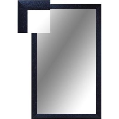 Зеркало настенное Attache (1000x600 мм, черный шелк)
