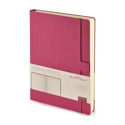 Ежедневник недатированный Bruno Visconti Marseille искусственная кожа А5 136 листов розовый (147x212 мм)