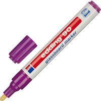 Маркер для стеклянных досок Edding E-90/008 фиолетовый (толщина линии 2-3 мм)
