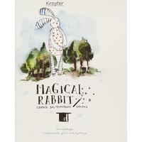 Тетрадь общая Kroyter Магический кролик А5 48 листов в клетку на скрепке