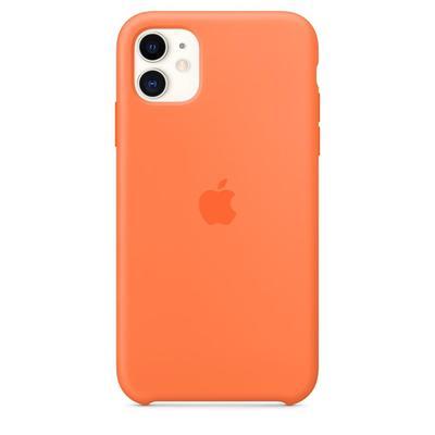 Чехол - крышка Apple Silicone Case для iPhone 11 оранжевый витамин (MY192ZM/A)