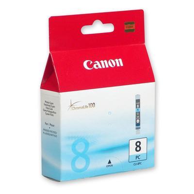 Картридж струйный Canon CLI-8PC 0624B024/0624B001 фото голубой оригинальный