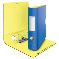 Папка-регистратор Leitz 180 UrbanChic 82 мм синяя