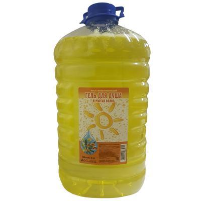 Гель для душа и мытья волос Восстанавливающий 5 литров