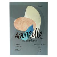 Папка для рисования акварелью Kroyter Проф А4 10 листов
